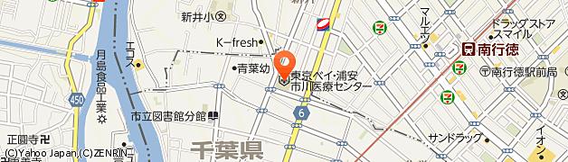 市川市南行徳 東京ベイ市川医療センター 地図