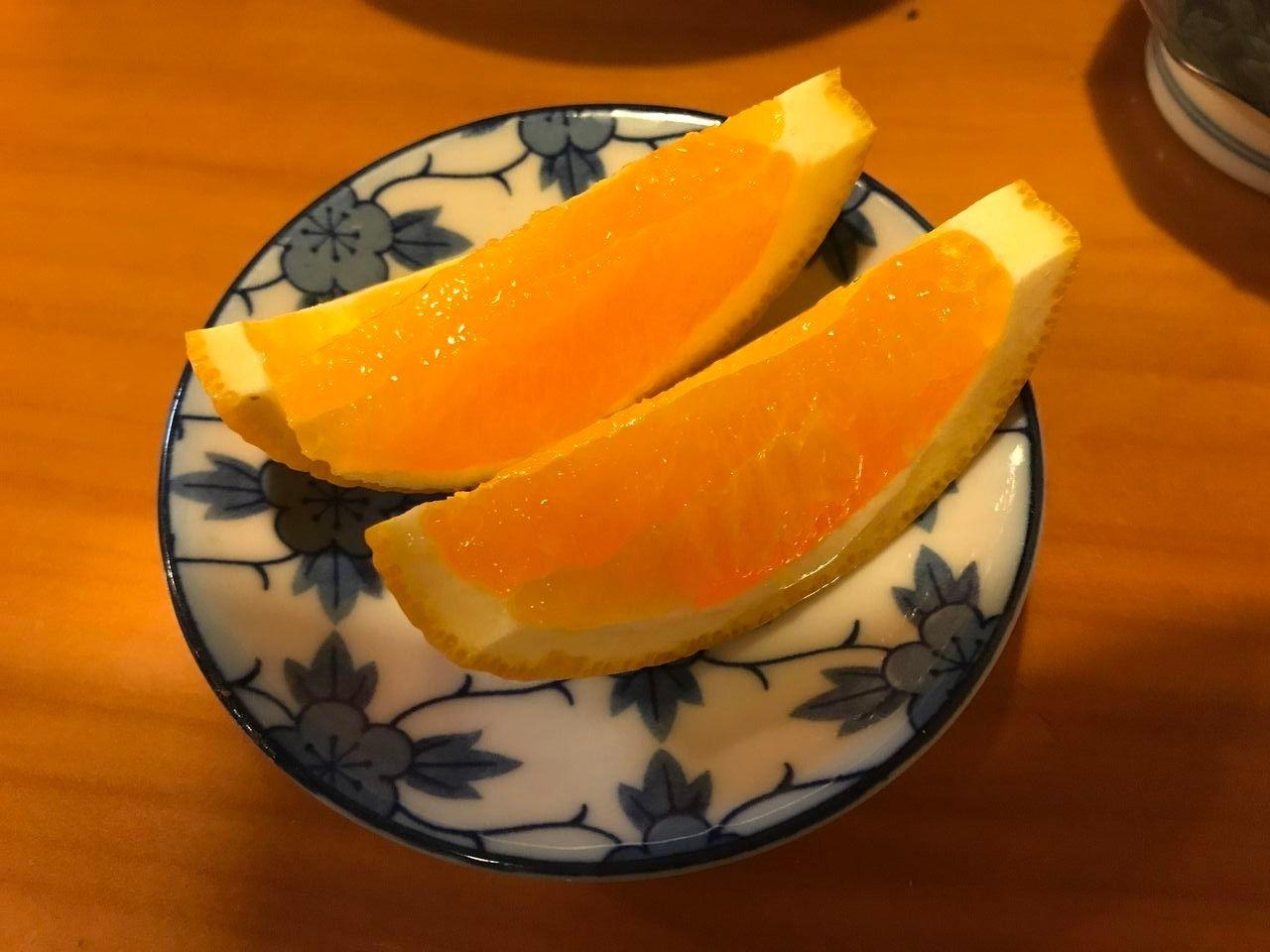 行徳のみちお亭のランチデザート