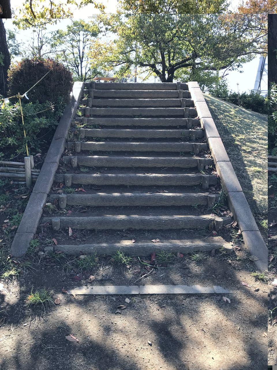 行徳の福栄公園の階段