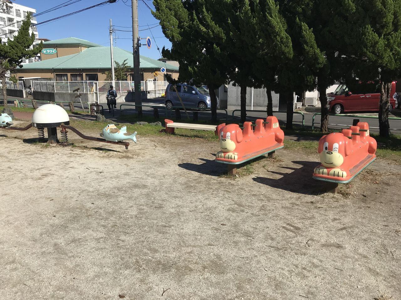 行徳の福栄公園の幼児用遊具