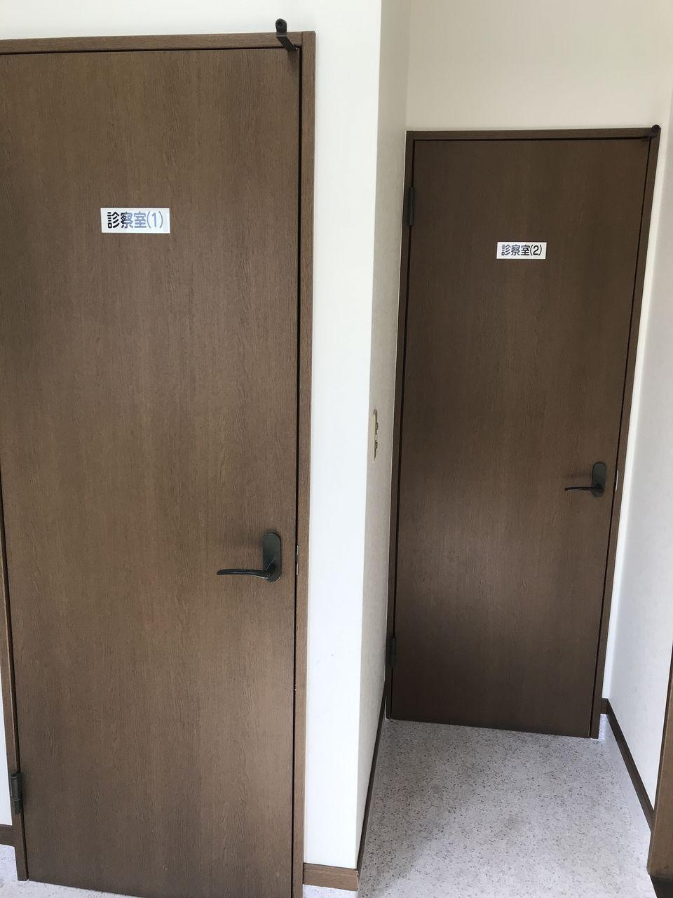 行徳のトシ動物病院の診察室入口