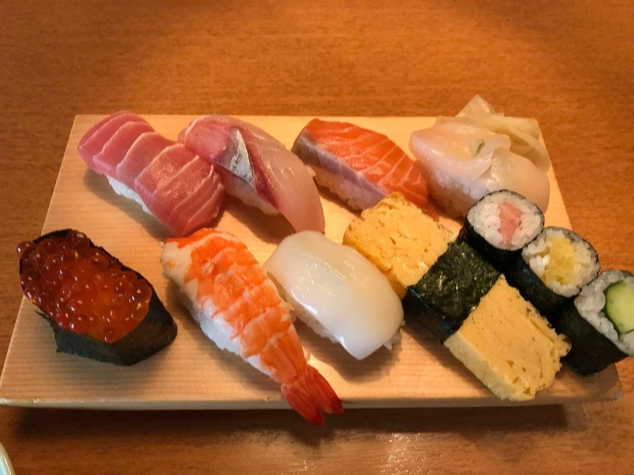 行徳の鮨 日本海の鮨ランチ