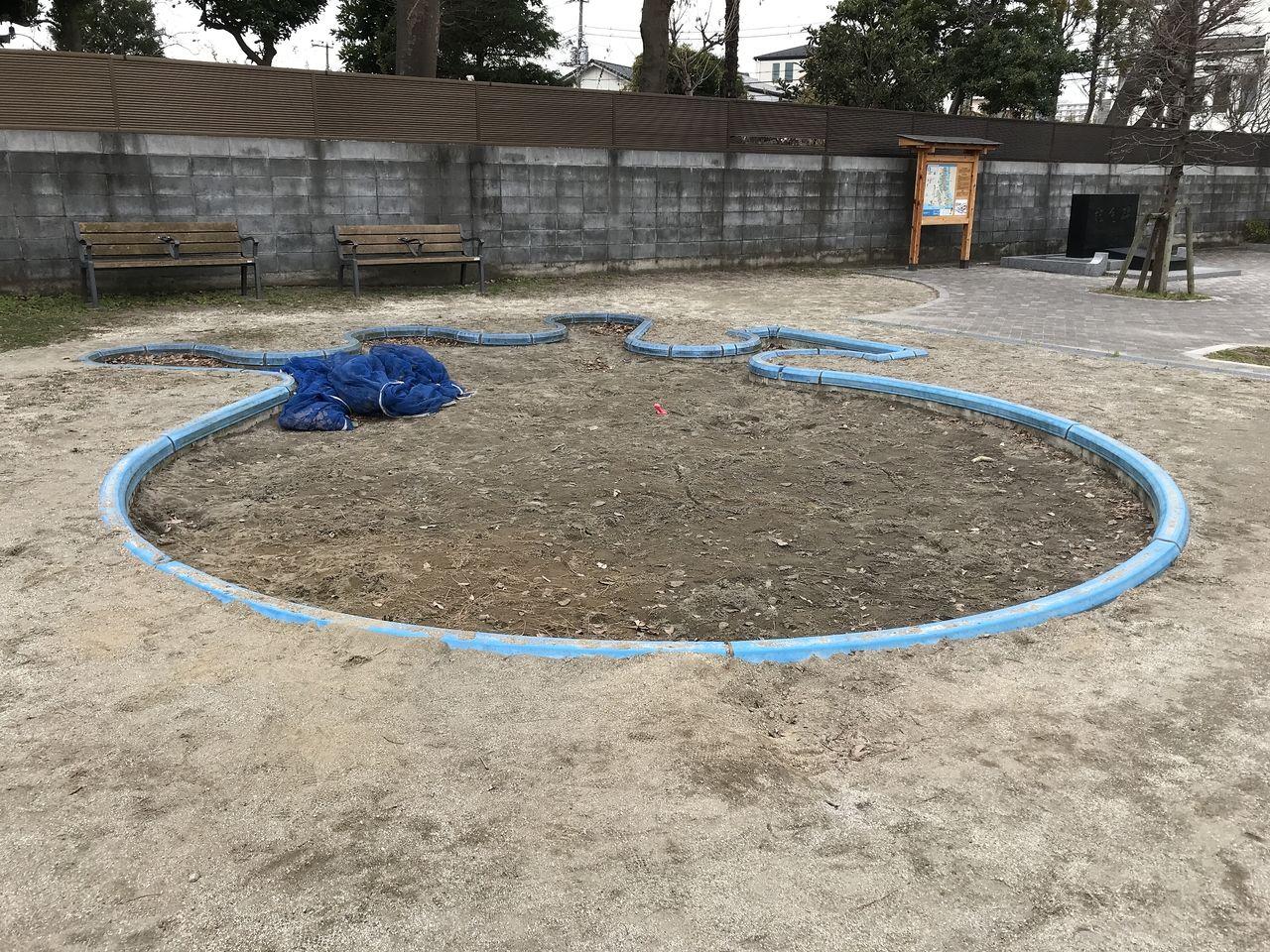 行徳の寺町公園の砂場