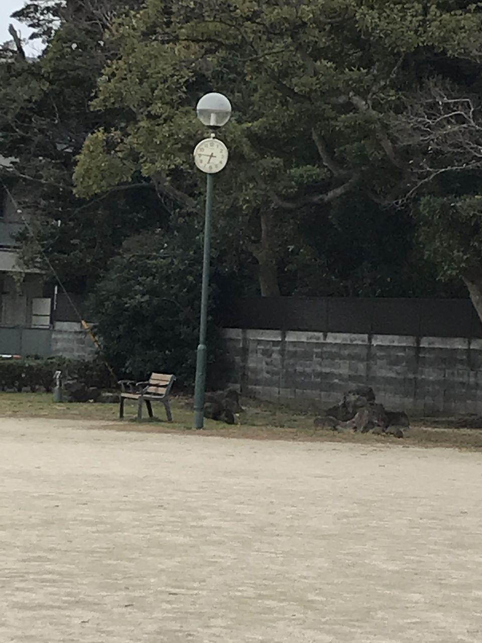 行徳の寺町公園の時計