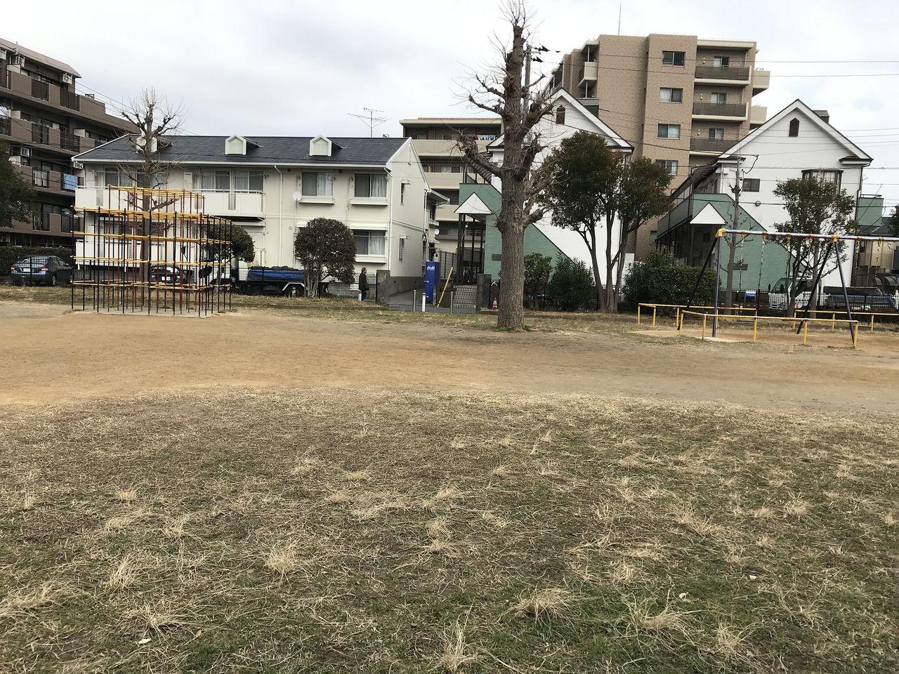行徳の三町畑公園の広場