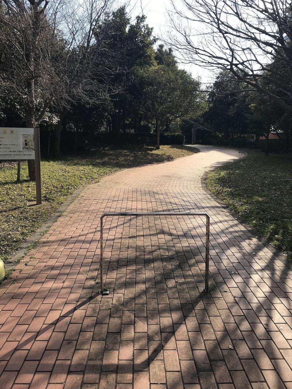 南行徳のいこいの広場への道