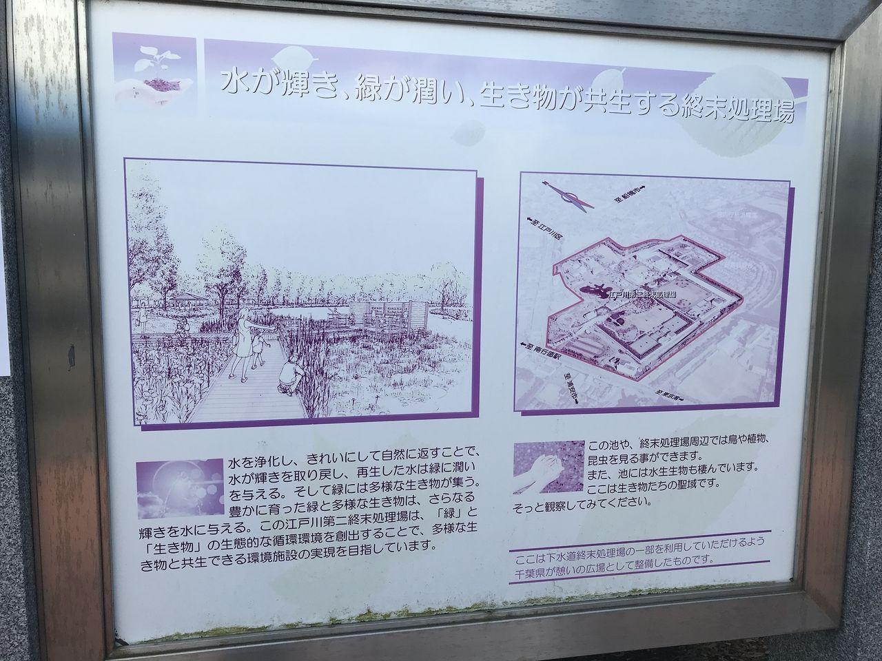 南行徳のいこいの広場の説明図