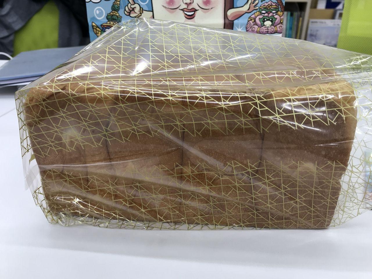 行徳のだきしめタイの食パン