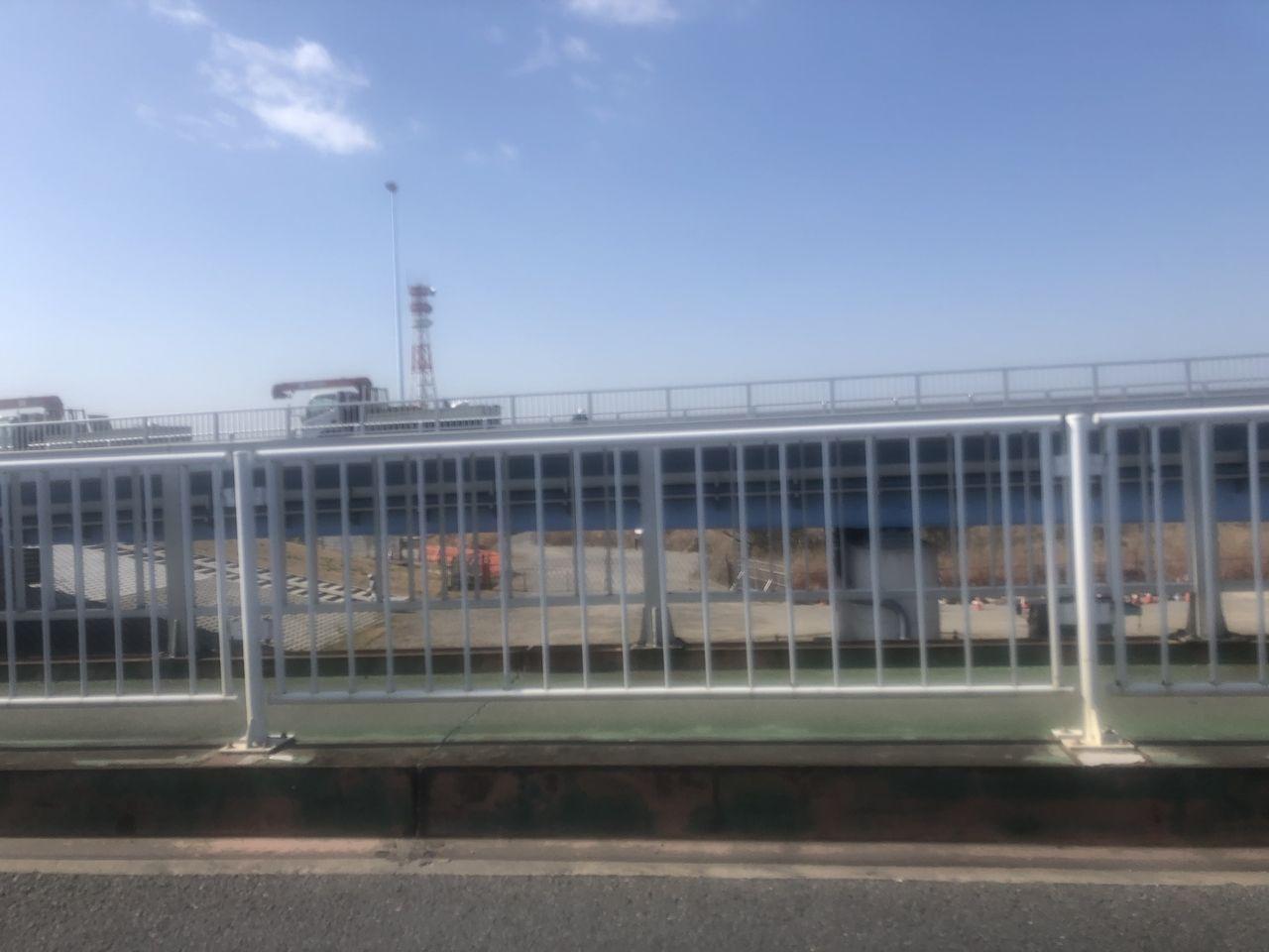 来月3月10日(火)午前5時に県道市川浦安線・行徳橋が開通予定!