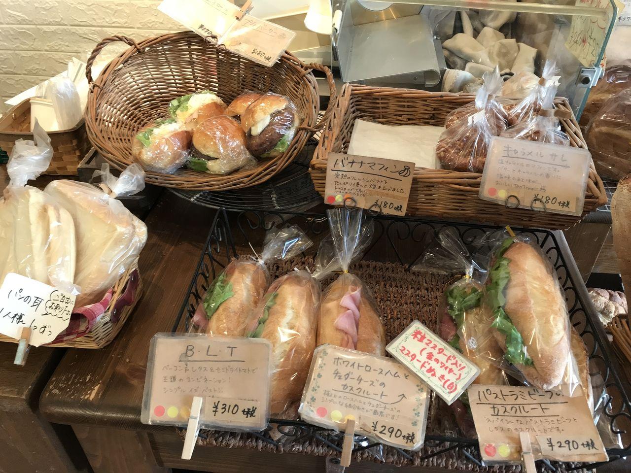 行徳のBEKER'S PLACEの食事パン