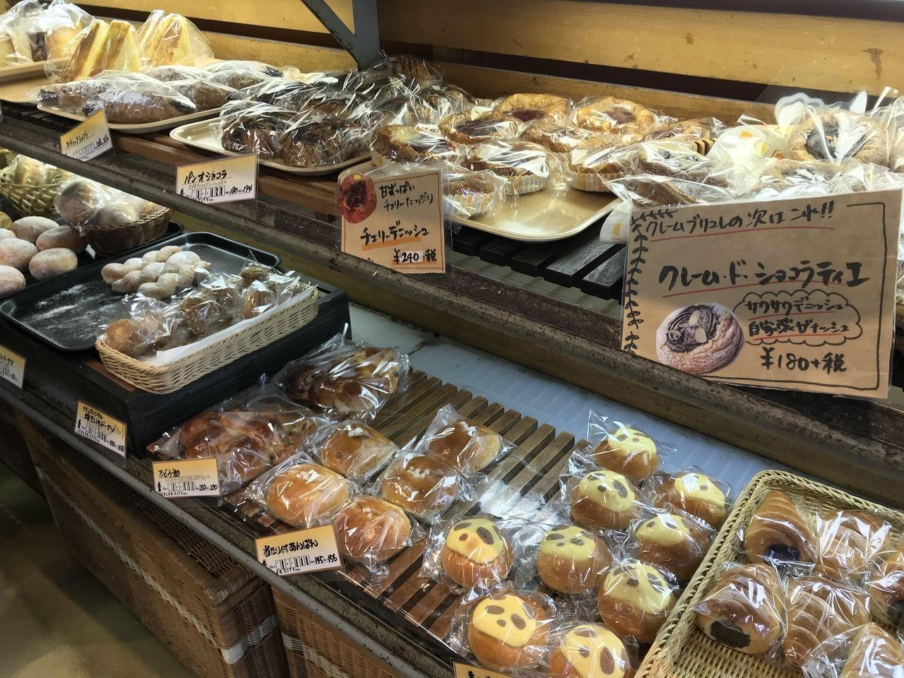 南行徳のリヨンセレブの菓子パン