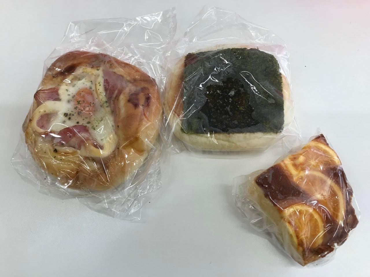 南行徳のリヨンセレブで購入したパン