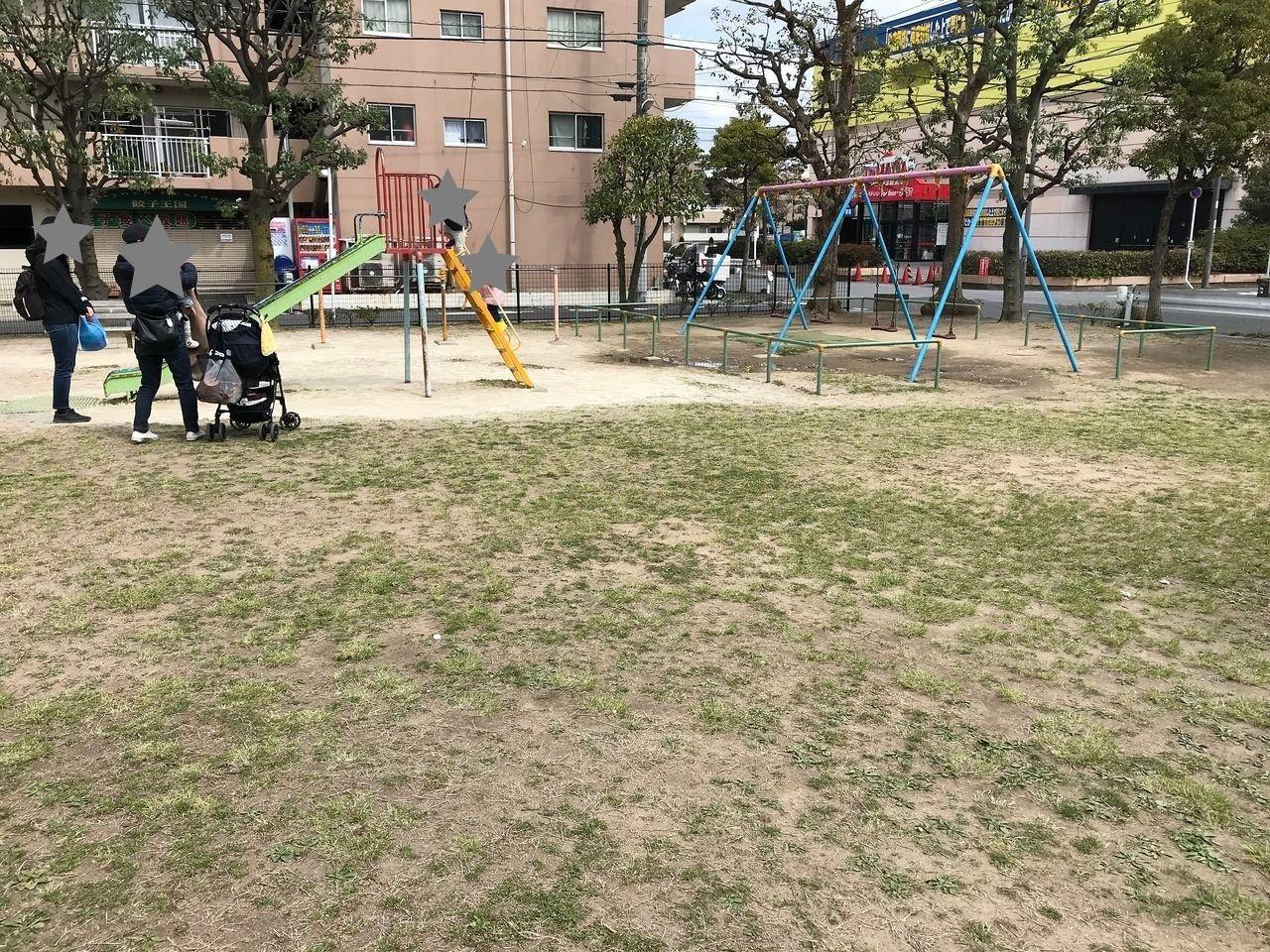 南行徳の中江川添公園の遊具