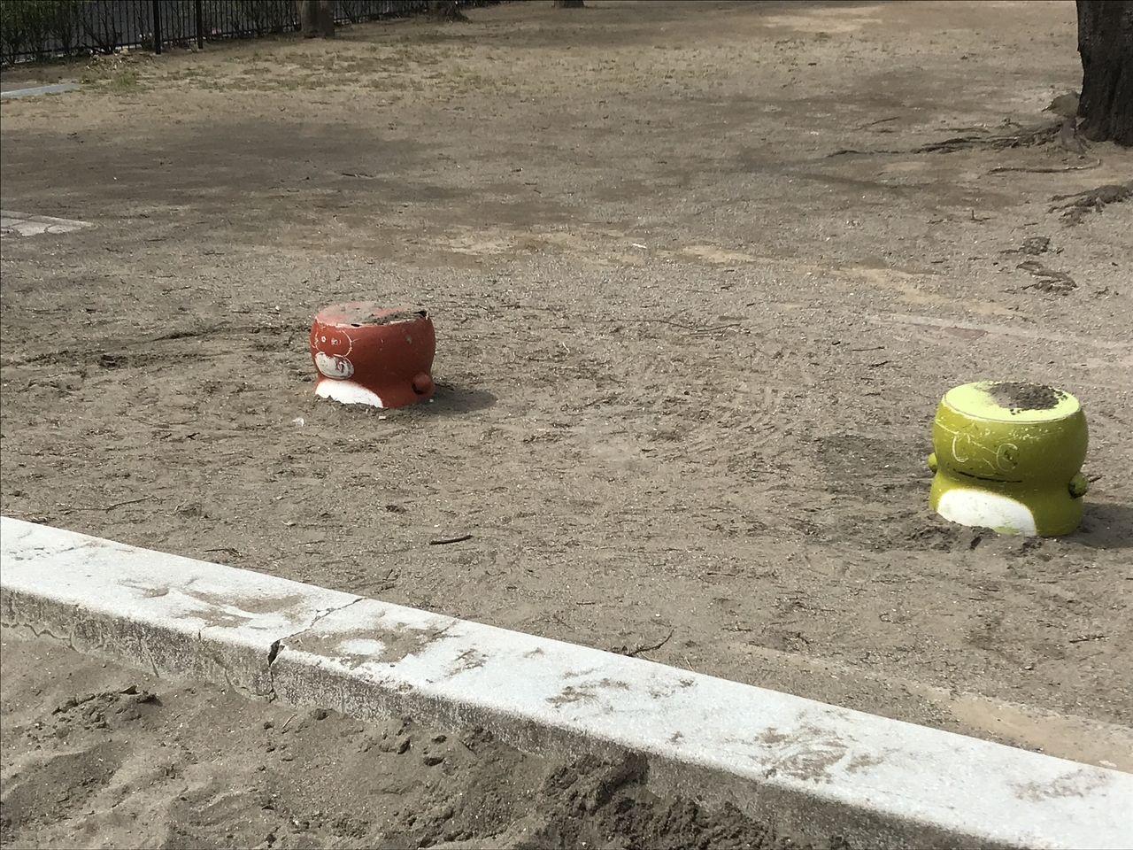南行徳の中江川添公園の椅子
