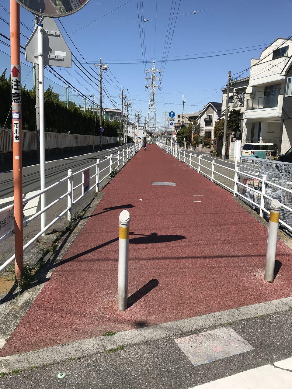 行徳の熊野古道ならぬ「福栄緑道」