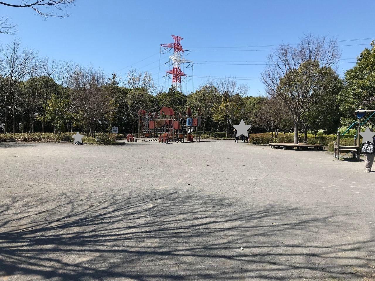 行徳のいこいの広場の奥にある公園