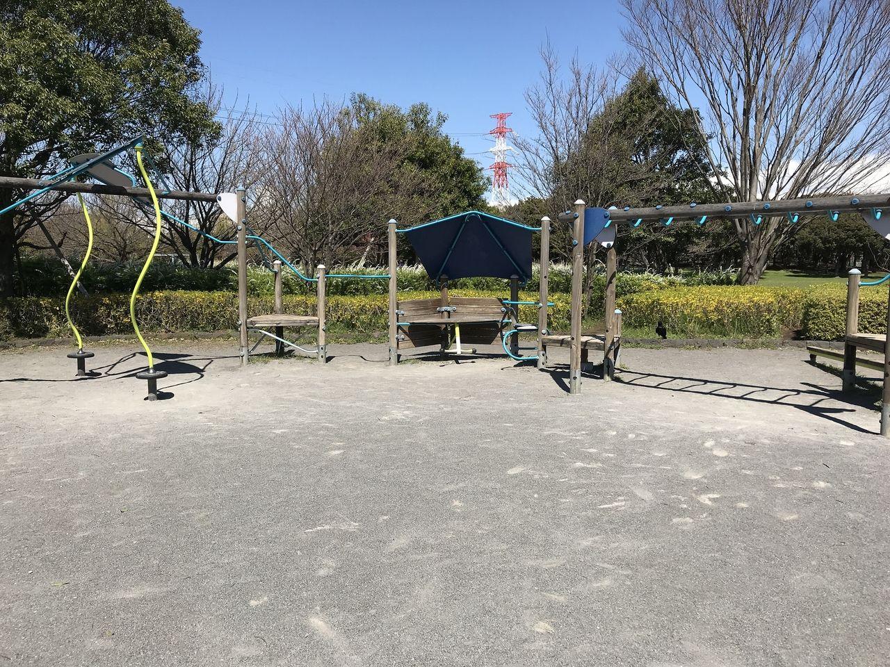 行徳の「福栄スポーツ広場」のいこいの広場