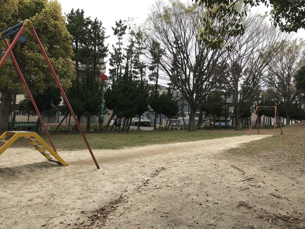 南行徳の東海面公園のロープウェイ