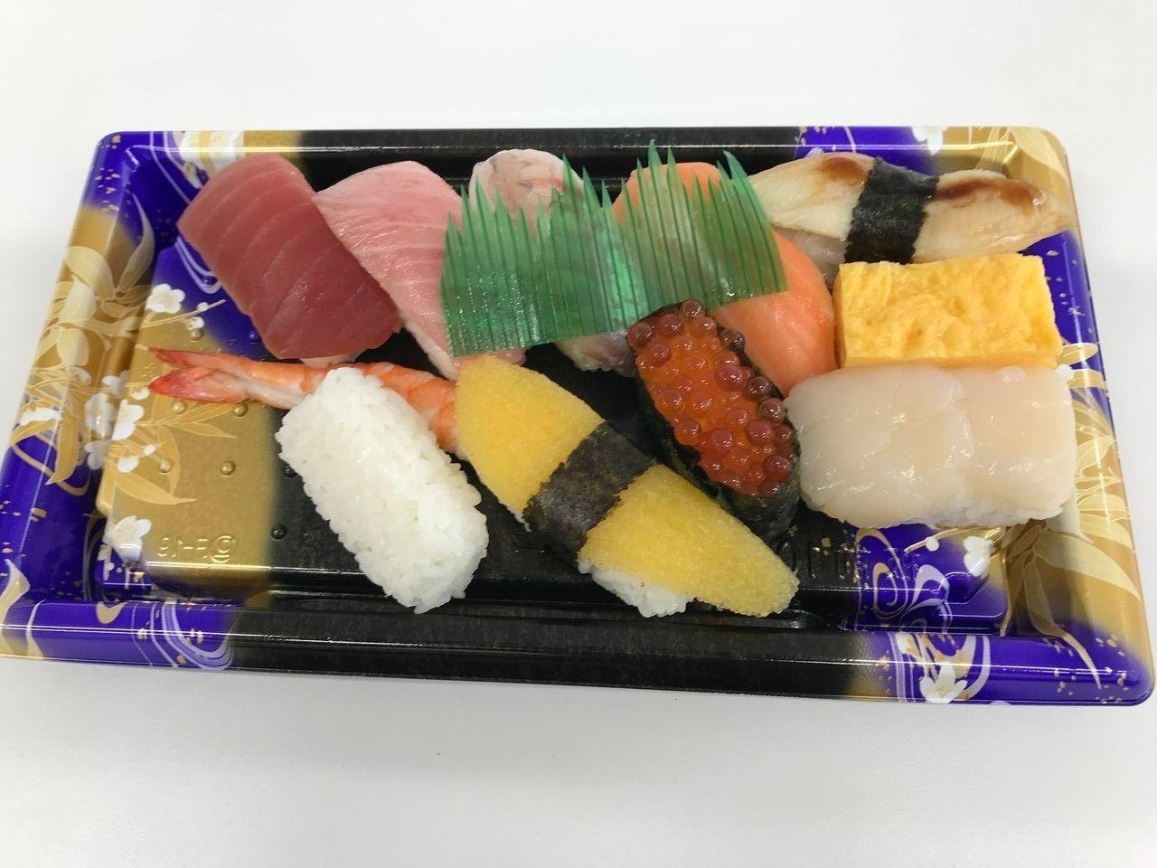 南行徳の鮪Workの特上寿司