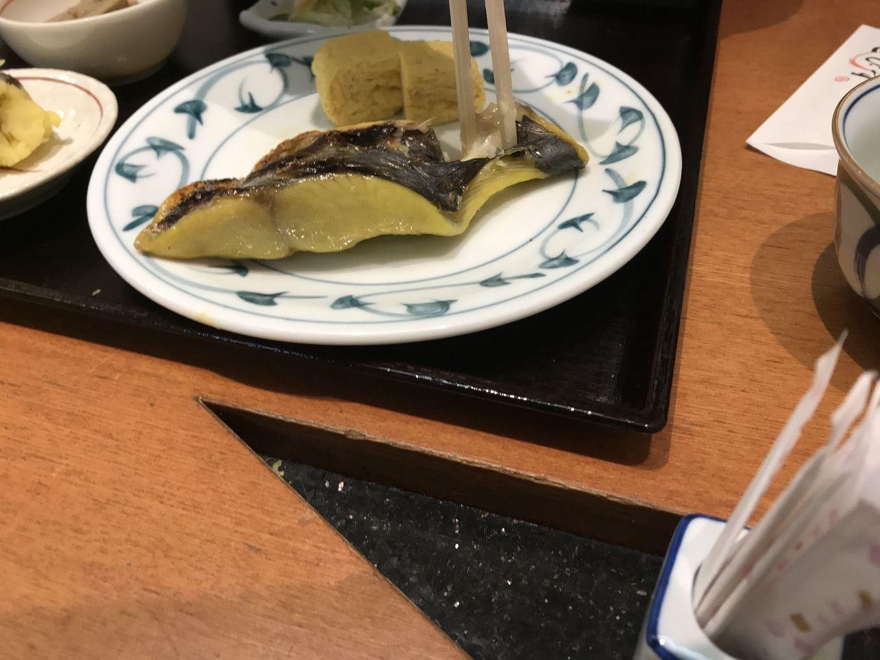 行徳のえびすの鰆の西京焼き