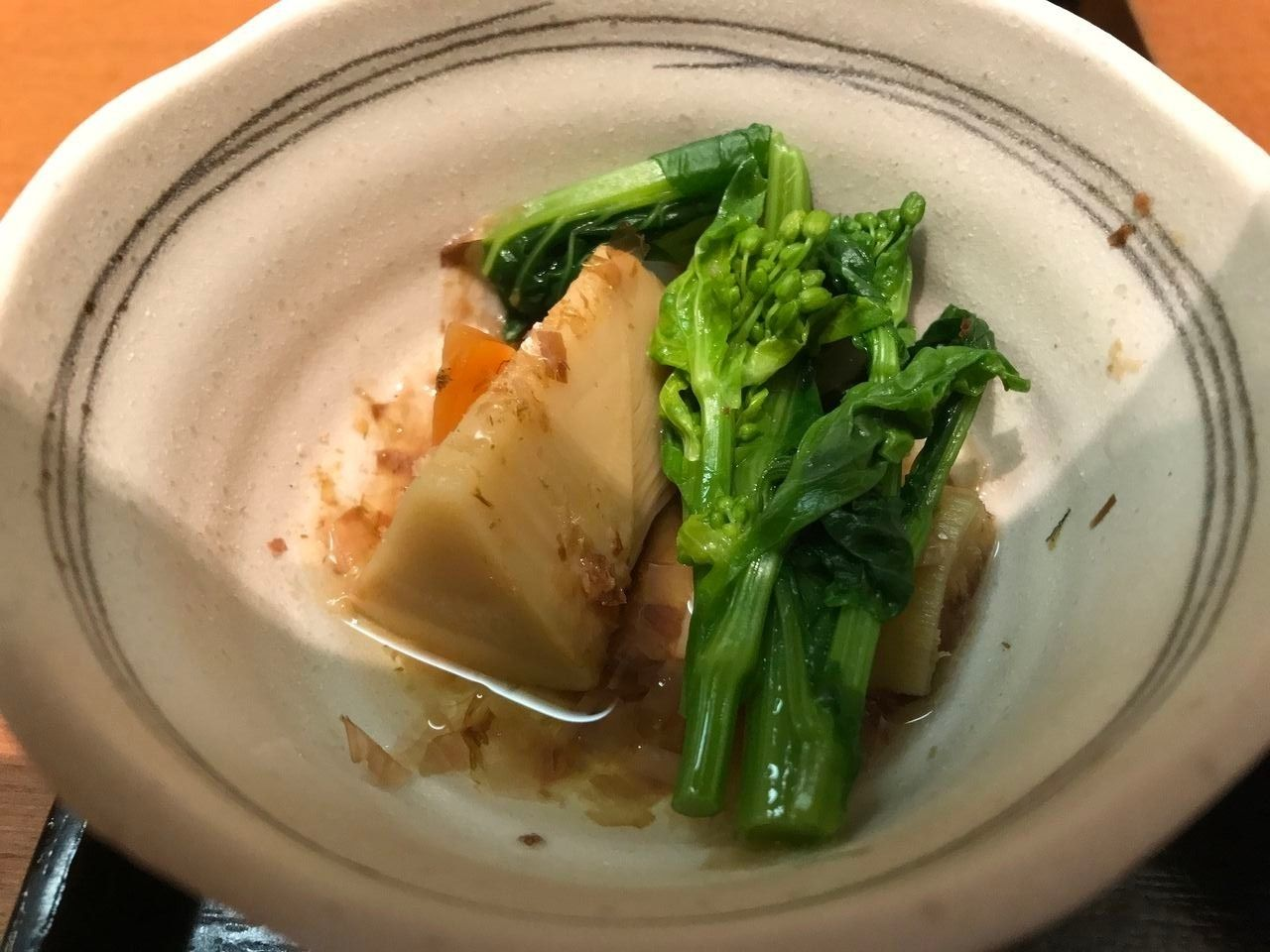 行徳のえびすの筍の土佐煮