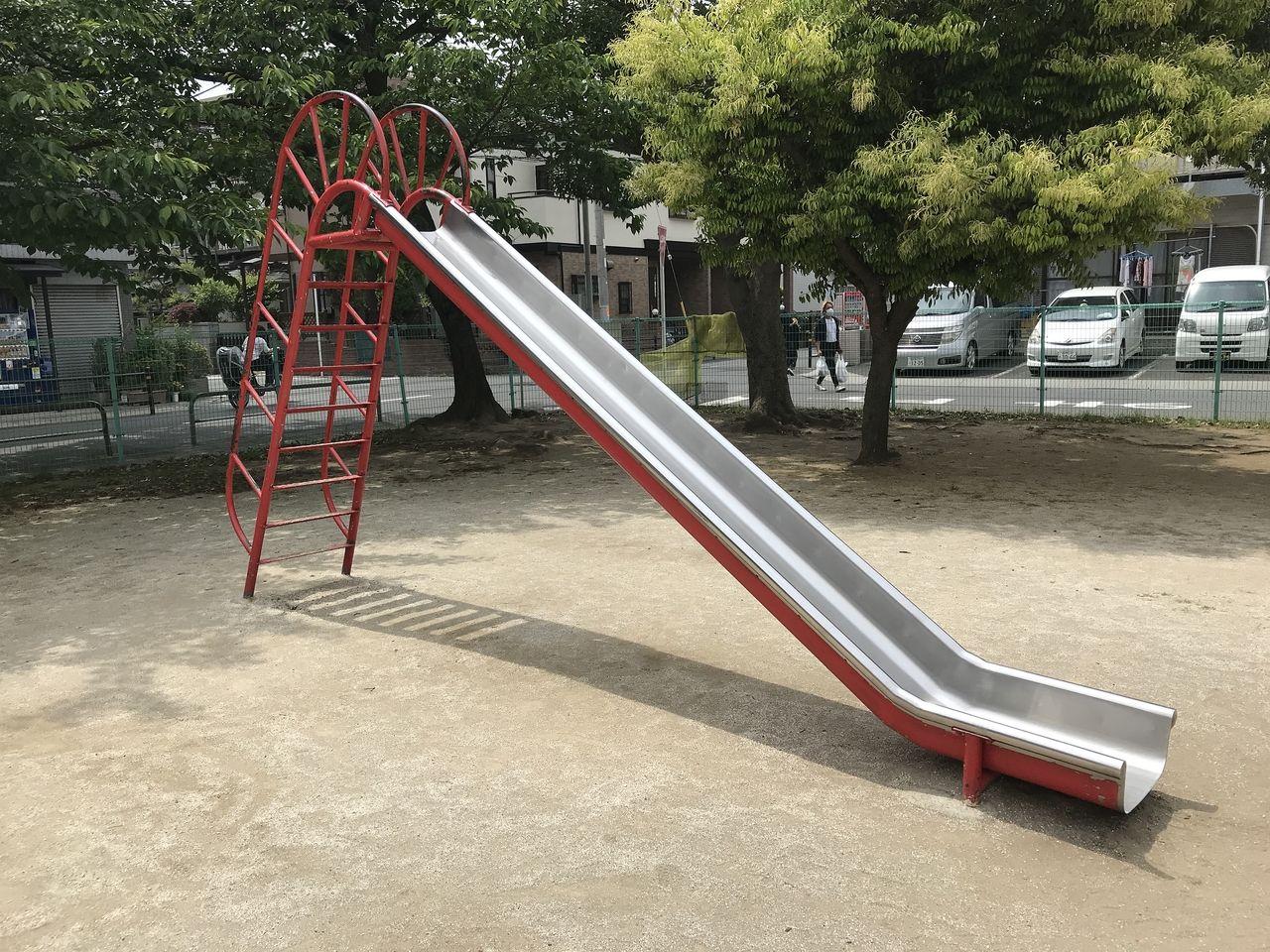 行徳の南沖公園のすべり台