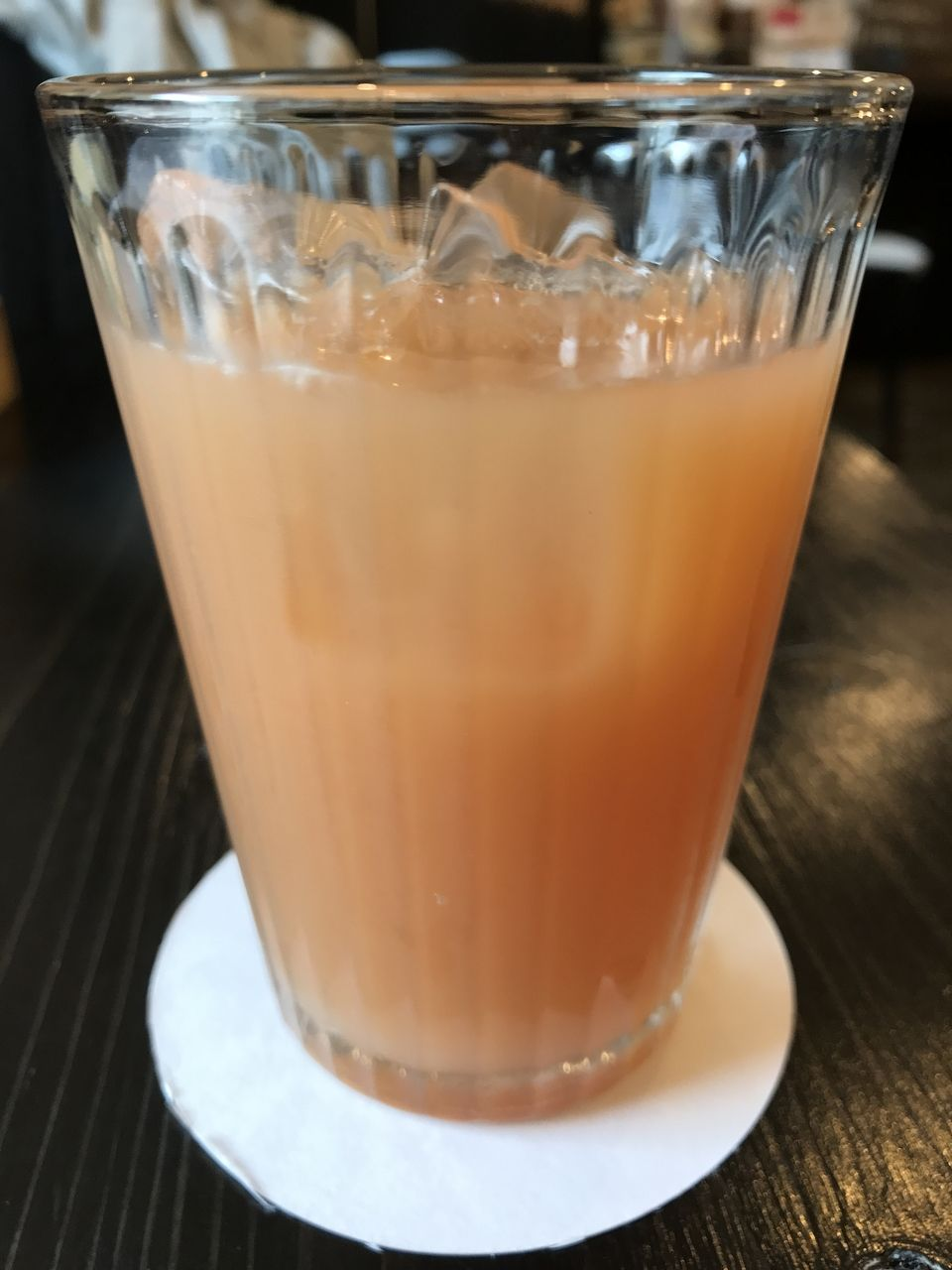 行徳のKuriyaのグレープフルーツジュース