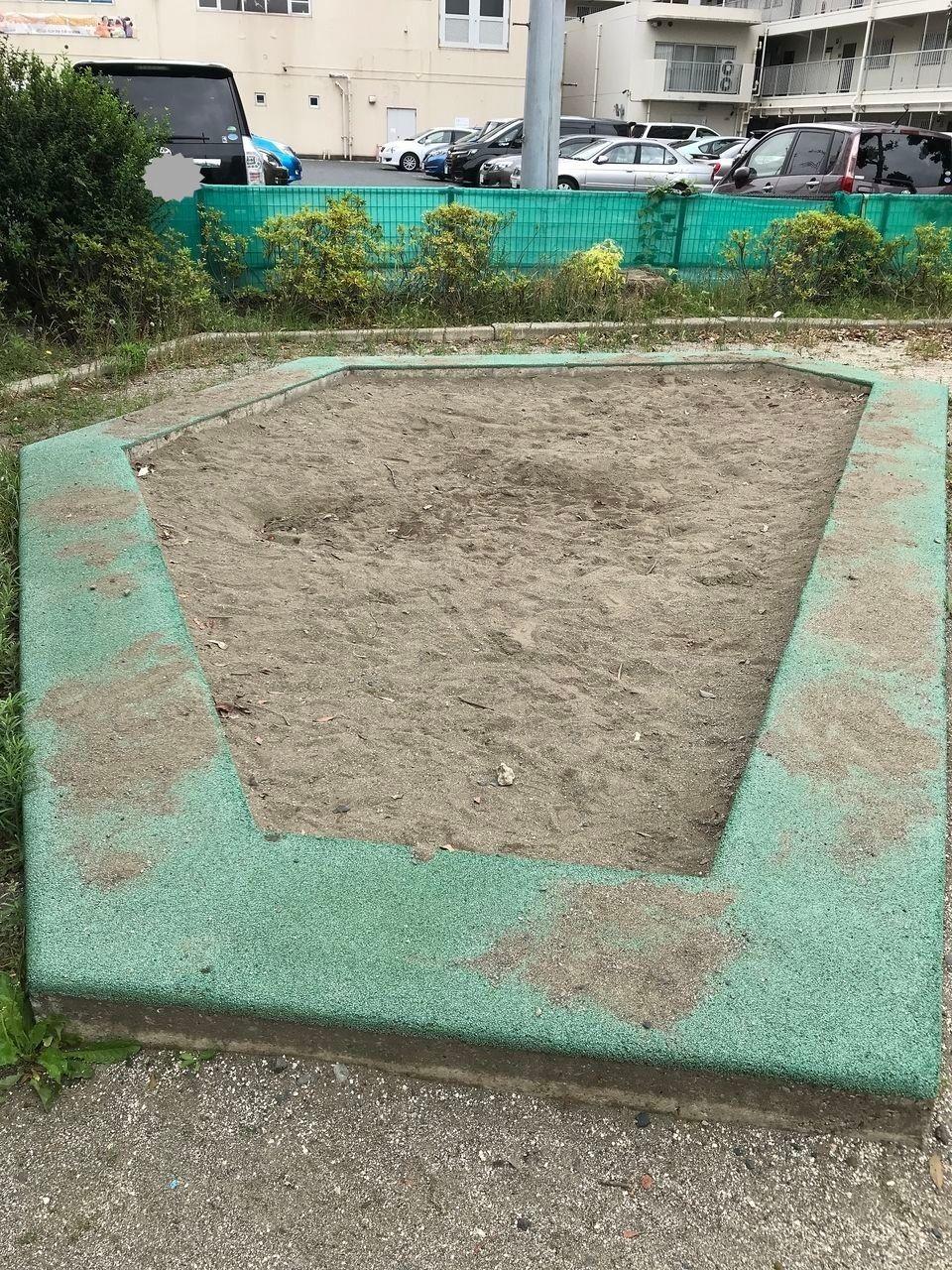 南行徳のムクゲ公園の砂場