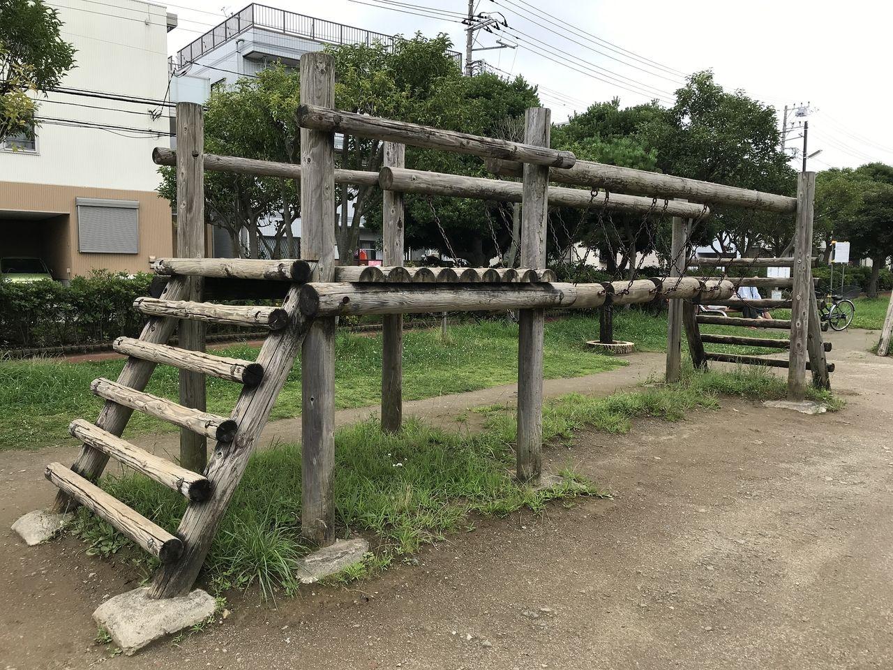 南行徳公園のドキドキ橋