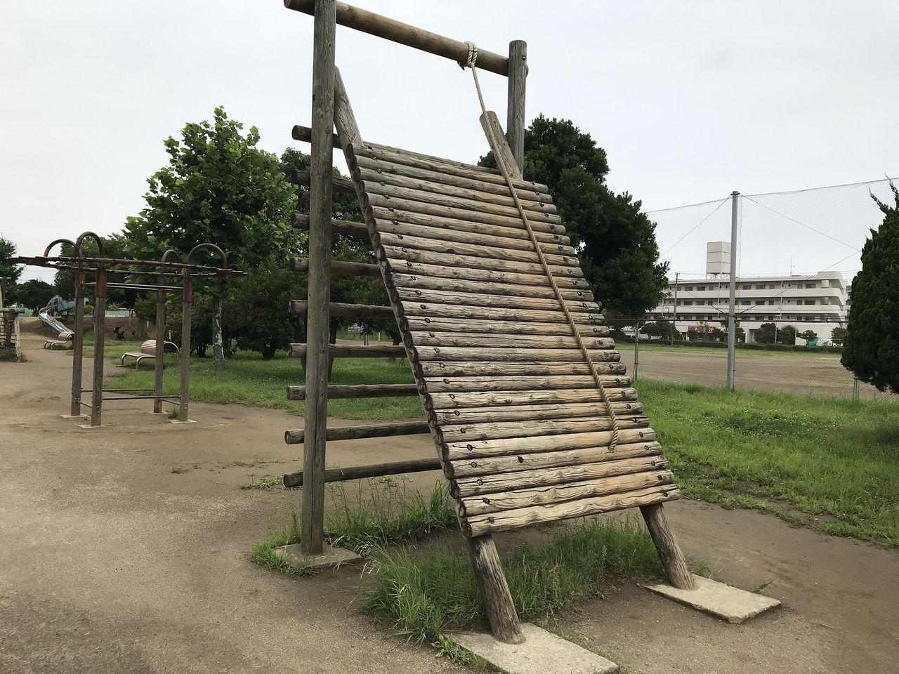 南行徳公園の三角山超え
