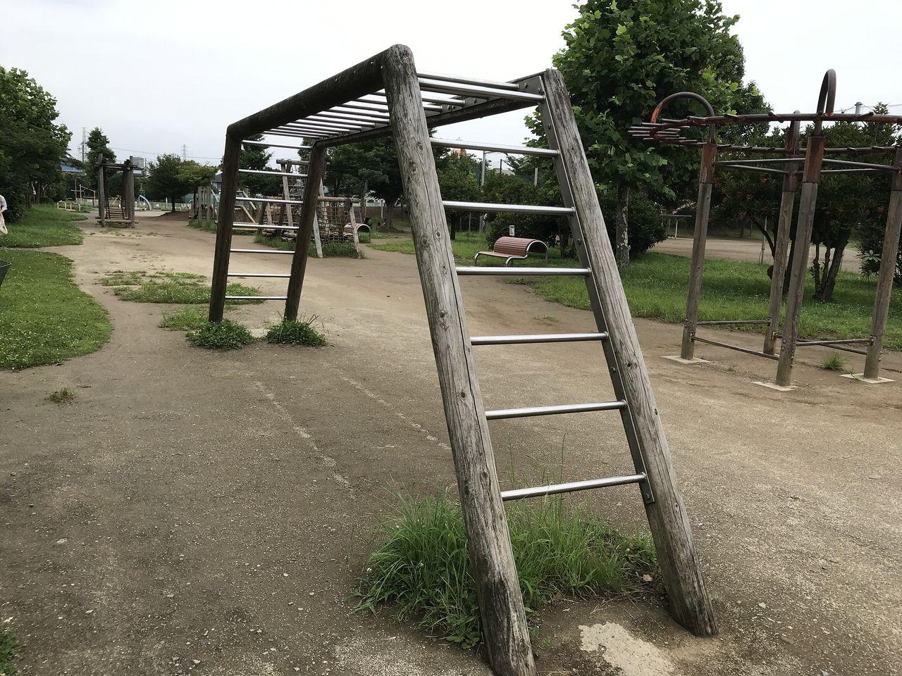 南行徳公園のうんてい